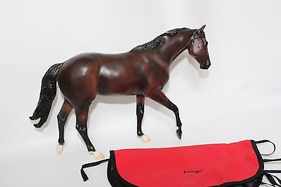 Breyer Forego Racing Days Collection Traditional Horse w/ Embroidered Blanket