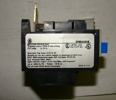 1pc. GE CR324DXHS Solid State Overload Relay, New