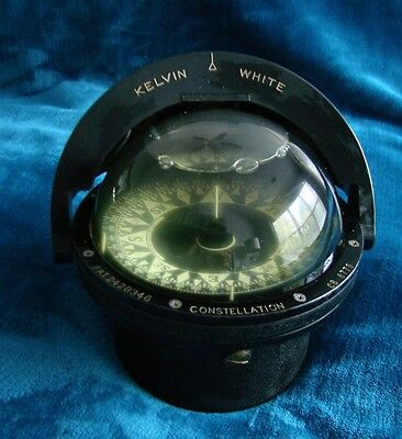 VINTAGE KELVIN WHITE COMPASS CONSTELATION CB 8775 / Great Condition