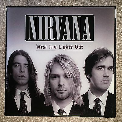 NIRVANA With The Lights Out Coaster Record Cover Ceramic Tile