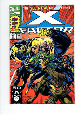 Marvel Comics X-FACTOR  #71, 72, All New, All Different First App Strongman N.M+