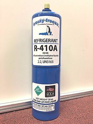 R410, R410a, R-410a, Refrigerant, Air Conditioner, 28 oz. Can, Air Conditioning