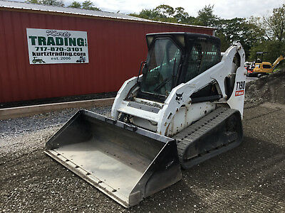 2006 Bobcat T190 Tracked Skid Steer Loader w/ Cab & Joysticks! NEW TRACKS!!