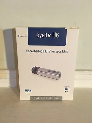 EyeTV U6 Pocket-Sized HDTV Tuner Stick for Apple MacBook