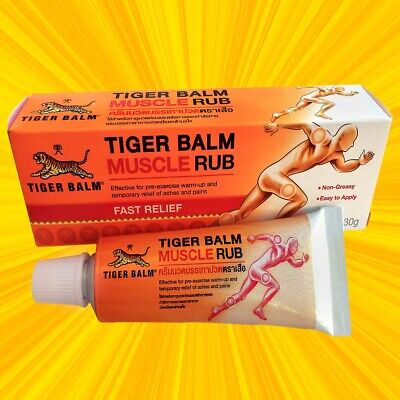 Baume Du Tigre pommade 1 x 30g  /   Tiger Balm Muscle Rub 1 x 30g