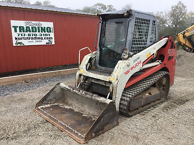 2012 Takeuchi TL230 Tracked Skid Steer Loader w/ Cab!