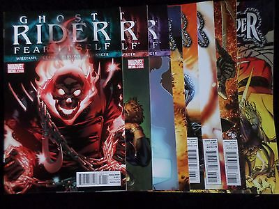 Ghost Rider 1-9 (2011) Full Series Run +More 1st App. Of Female Ghost Rider VF