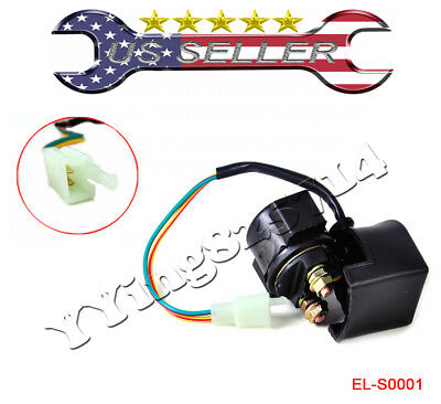 TWO STARTER SOLENOID RELAYS FOR HONDA BIG RED 200 ATC200ES 3 WHEELER 82 83 1984