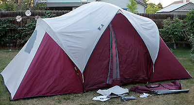 GREATLAND OUTDOORS YELLOWSTONE Insta-Set 3 Room Dome Tent Sleeps 7