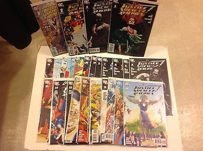 JUSTICE SOCIETY OF AMERICA 1-54 56 Comic Lot DC JSA 2007 Only Issue 8 Missing