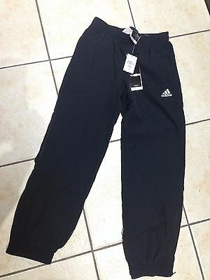 New Boys Adidas Track Pants Size 7-8 Years Rrp $50