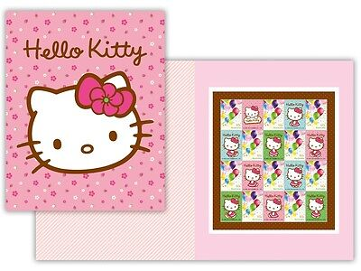 2012 Hello Kitty Australia Post Stamp Pack - Authentic