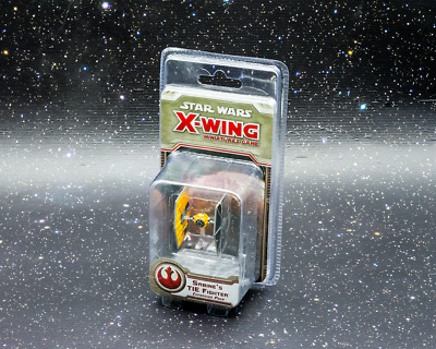 Star Wars X-Wing Miniatures Game Sabine's TIE Fighter - New - Real Aus Stock!