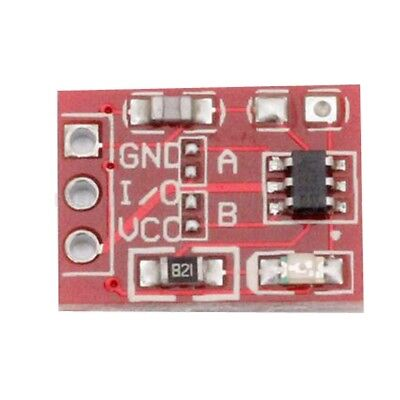 2pcs TTP223 Touch Key Button Module Self or No-Locking Capacitive Switches GD