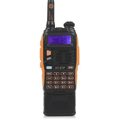 Baofeng Pofung GT-3TP Mark-III Tri-Power 8/4/1W Two-Way Radio Transceiver Dua...