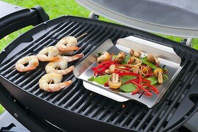 Weber Baby Q Stainless Steel Grill Pan for Weber Baby Q Models WE91133