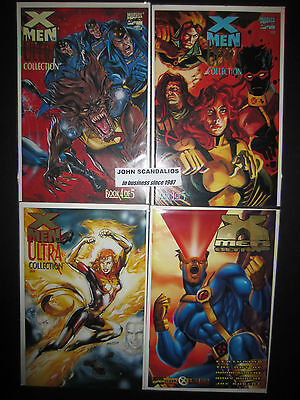 Lot of 4 Marvel Comics X-MEN ULTRA COLLECTION #s 2 3 4 UNREAD 1995 New & PREVIEW