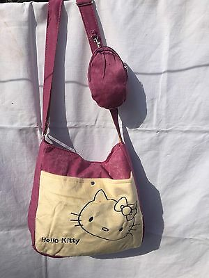 Hello Kitty Shoulder Bag- Pink