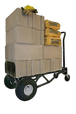 Hand Truck Dolly Cart Folding Moving Push Platform Warehouse 700 Lb Trolley New