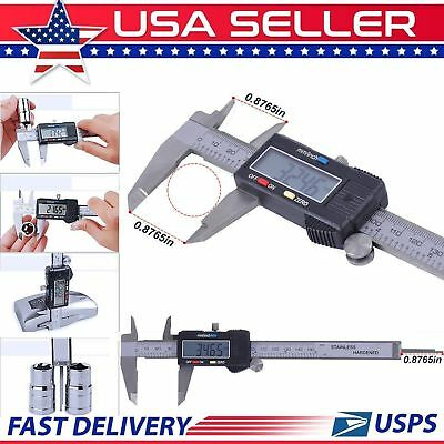 150mm / 6inch LCD Electronic Digital Gauge Vernier Caliper Stainless Steel Ruler