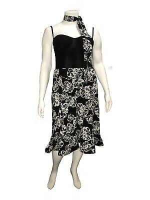 Suzanne Grae Skirt great for Ballroom Dancing - Size 14 - B Grade Condition