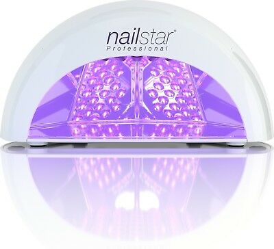 LED Gel Nail Lamp UV Ultra Fast Curing With Timer Polish CND Shellac White