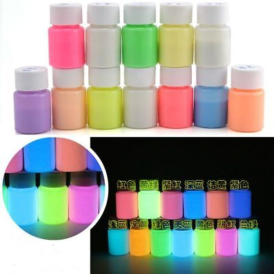 30g Glow in the Dark Acrylic Luminous Paint Bright Pigment Party Decoration DIY