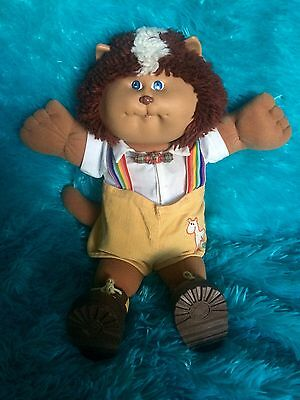 Cabbage Patch Vintage Koosas Lion / Cat In Original Clothing