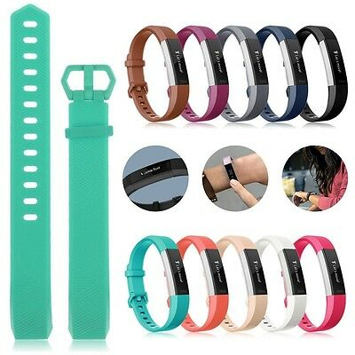 Replacement Silicone Sports Watch Bands Strap Bracelet For Fitbit Alta & Alta HR