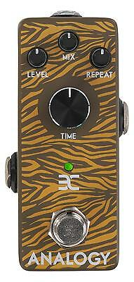 Pedale Effetto Chiatarra Elettrica Delay Echo Riverbo Foot Switch Jack 6,35mm