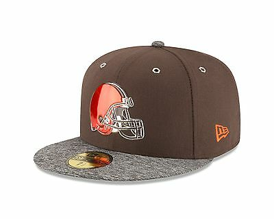 Adults 7.25 Cleveland Browns New Era 59FIFTY On Stage 2016 Draft Fitted Cap M81