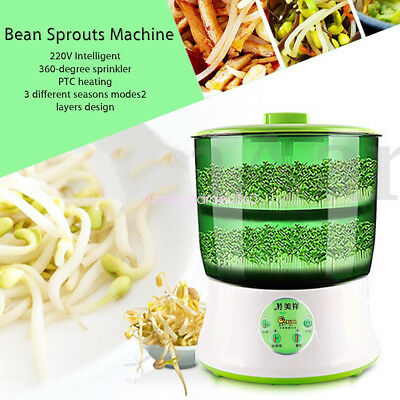 Intelligent Automatic Double Layer Bean Sprout Seed Cereal Multifunction Machine