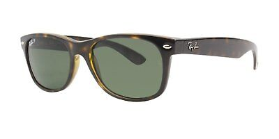 Ray-Ban Womens Polarized UV Protection Wayfarer Sunglasses Brown