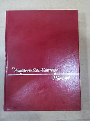 7Aaa41 Yearbook Youngstown (Ohio) State University 1978: No Writing! Vgc