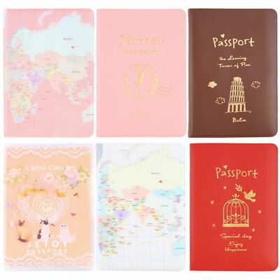 New Travel Passport Holder Protect Cover Case Card Ticket Container Pouch KI