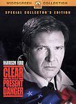 Clear and Present Danger DVD WS 2003 Collectors Ed - Harrison Ford EnglishFrench