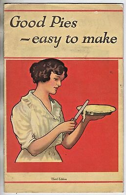 Vintage 1920's booklet GOOD PIES  EASY TO MAKE Nonesuch Mince Meat MERRELL-SOULE