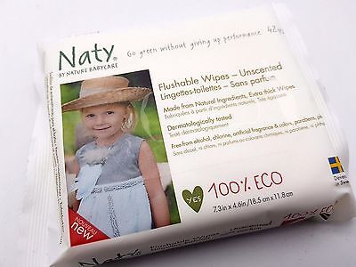 Naty by Nature Babycare Öko Feuchter Toilettentücher, 12er Packung R1.42