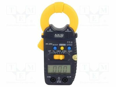 1 pcs AC digital clamp meter; Øcable:21mm; LCD 3,5 digit (1999)