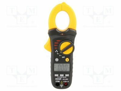 1 pcs AC digital clamp meter; Øcable:30mm; LCD (2000), with a backlit