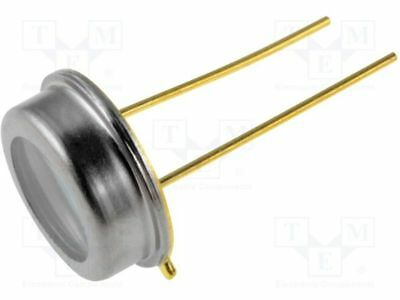 1 pcs PIN IR photodiode; TO5; 850nm; 400-1100nm; 55°; Mounting: THT; 2nA