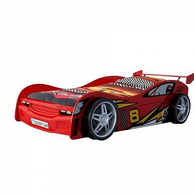 Vipack Funbeds Lit voiture Night Racer rouge