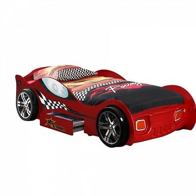 Vipack Funbeds Lit voiture Turbo Racing rouge