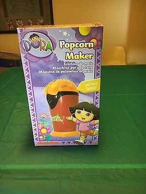 "Dora the Explorer Popcorn Maker Brand New in Box ""Rare"""