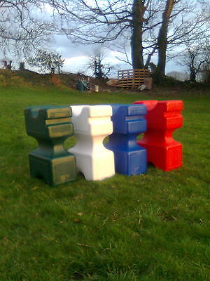 THE ORIGINAL BLOK plastic show jump poly block training aid SOLD IN PAIRS