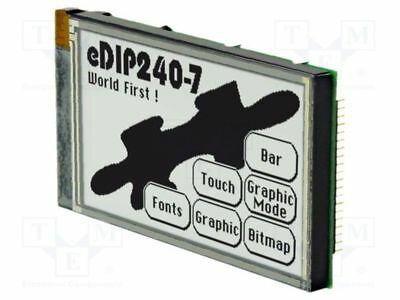 1 pcs Display: LCD; graphical; FSTN Positive; 240x128; black; LED; PIN:40