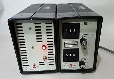 Endevco 104 Charge Amplifier with 109 power supply