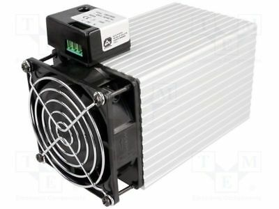 1 pcs Blower heater; 500W; IP20; DIN EN50022 35mm; 112x82x165mm; 230V