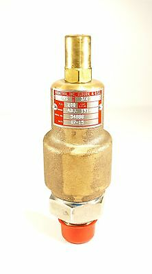 "New Aquatrol Bronze Adjustable Relief Valve 3/4"" x 3/4"" 200 PSI 3ETL4 69B1S-200"