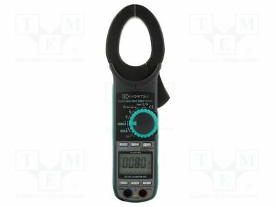 1 pcs AC/DC digital clamp meter; Øcable:40mm; Sampling:3x/s